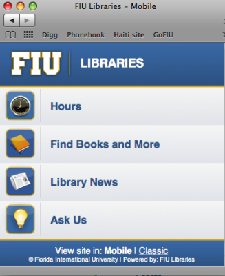 FIU libraries now go where you go