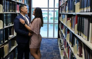 Love story comes full circle in Green Library