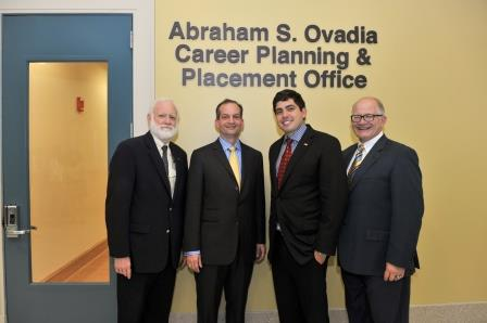 Alumnus Abraham S. Ovadia '09 gives $400,000 to enhance career opportunities for FIU law students