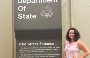 My internship with the State Department