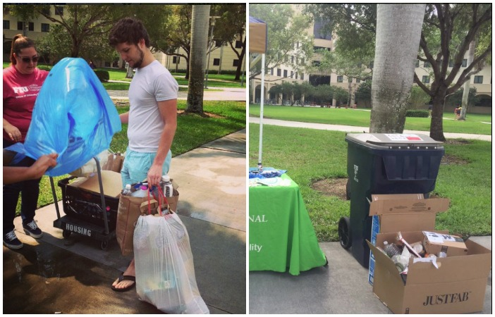 FIU recovers 635,575 pounds of recyclable materials