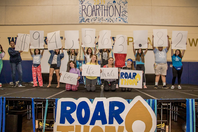 Dance marathon raises more than $94,000 to help sick children