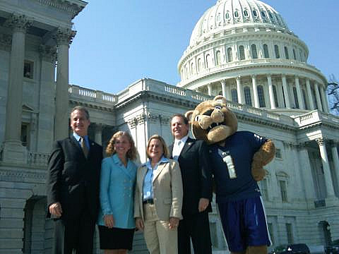 Roary takes D.C. by storm