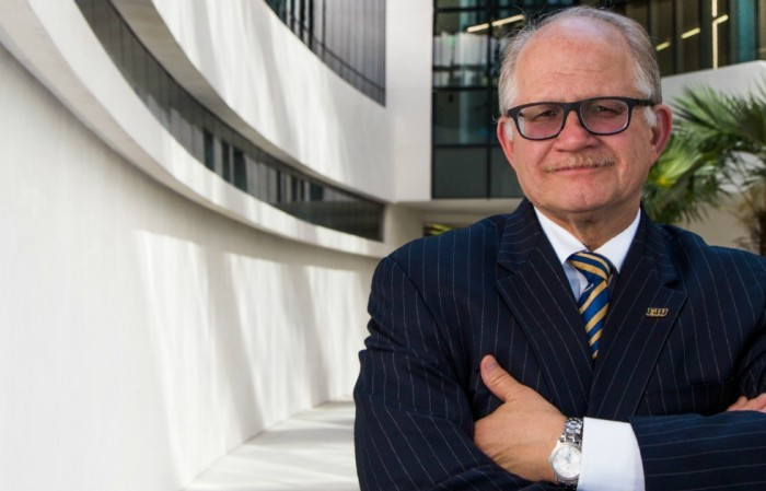 Happy holidays from President Rosenberg!