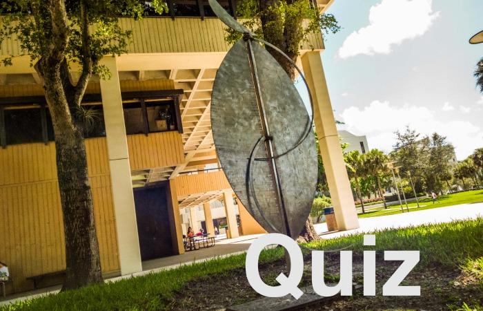 Quiz: Campus art right under your nose