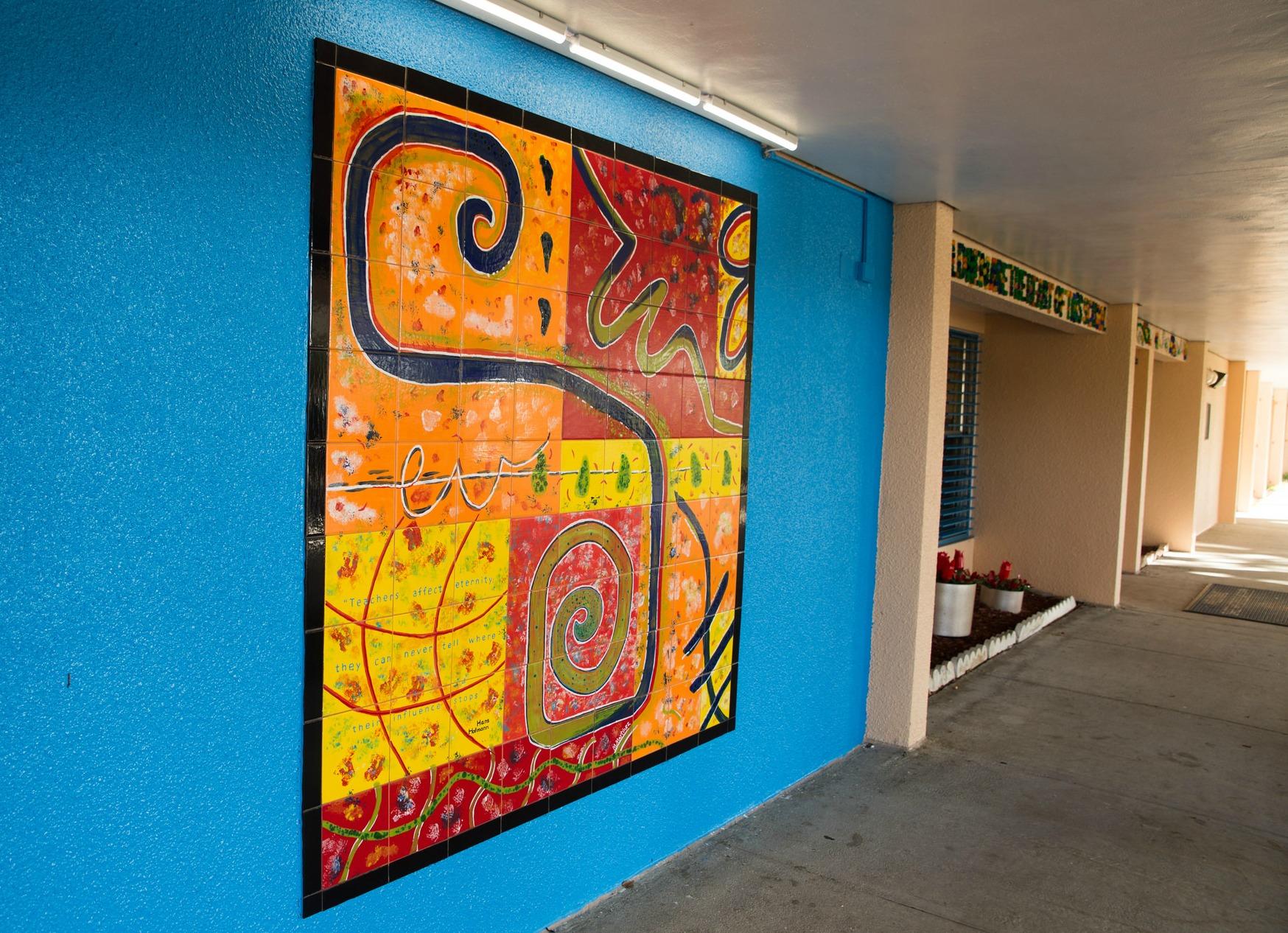 SWE mural