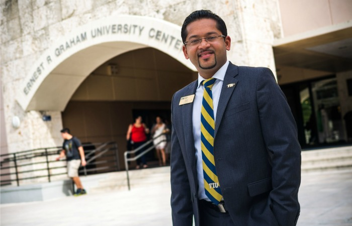 Replacing Ruth: Sanyo Mathew named senior director of Graham Center