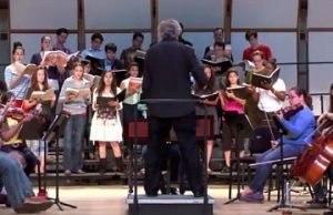 FIU News crashes rehearsal for Handel's 'Messiah'
