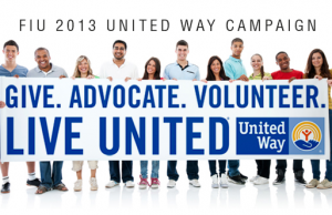 FIU kicks off 2013 United Way campaign Sept. 25