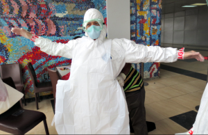 Professor helps lead effort to contain Ebola in Nigeria
