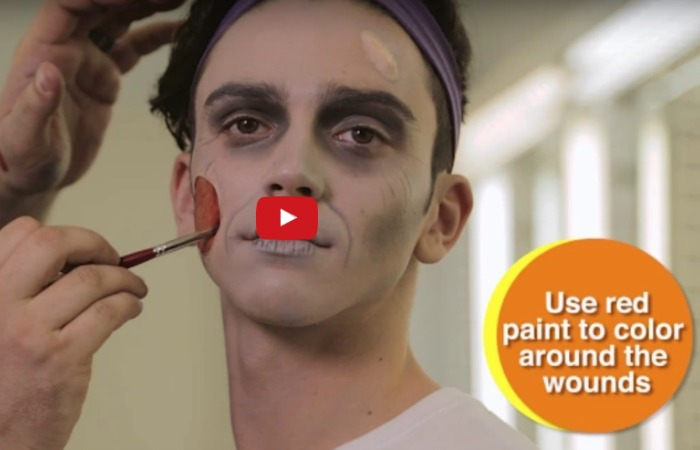 A few last-minute Halloween makeup tips from FIU Theatre