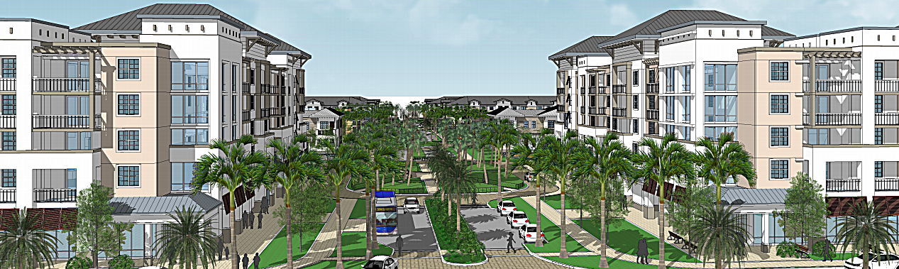 Liberty Square rendering from NewLibertySquare.com