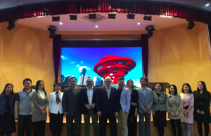 President Rosenberg blogs from China: Spanish language partnership on the move