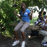 Miami Northwestern students visit organic garden