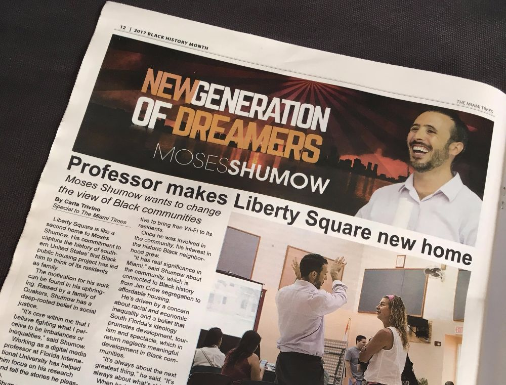 Digital media professor among 'New Generation of Dreamers of South Florida'