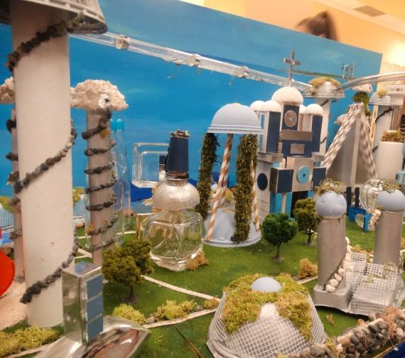 Future City St. Hugh Catholic School scale model