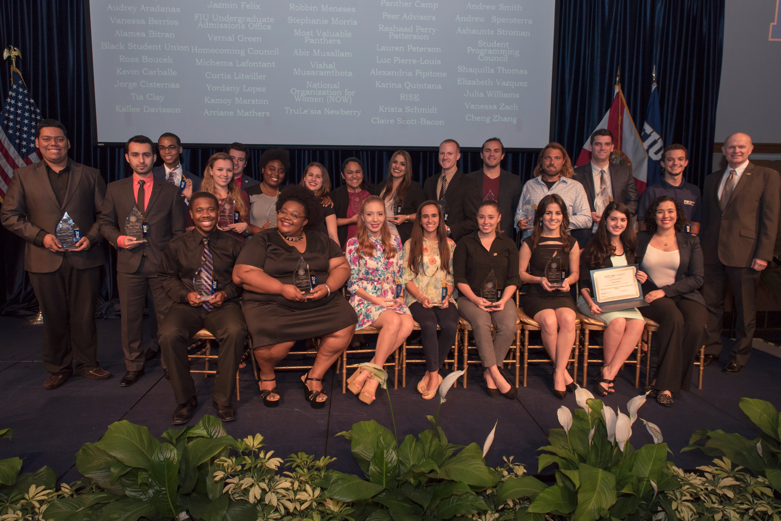 Students honored at 2016 Student Life Awards