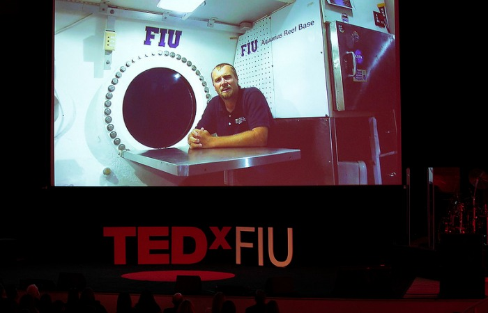 TEDxFIU: World's only underwater sea lab