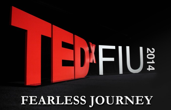 Take us on  Fearless Journey as a TEDxFIU speaker