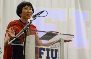 Amy Tan shares her journey of creativity with FIU