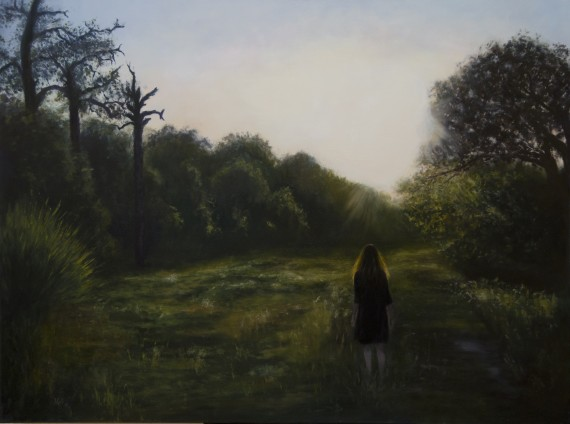 """Melissa Carter's """"Teach Us To Number Our Days"""" is among the landscape artworks displayed in the exhibition."""
