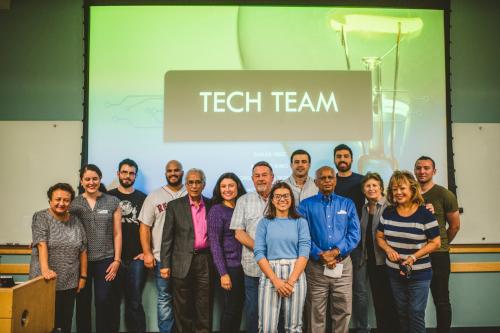 FIU's Tech Team with FIU retirees