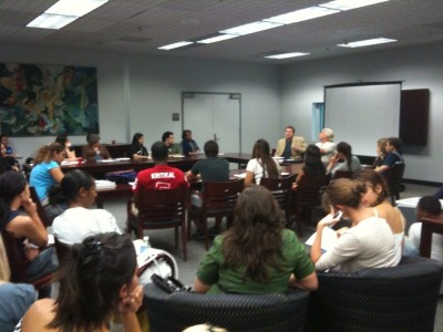New Times Talk series draws packed house