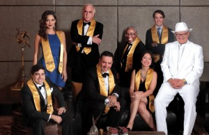 The 'Vanity Fair' inspired photoshoot with our Torch winners