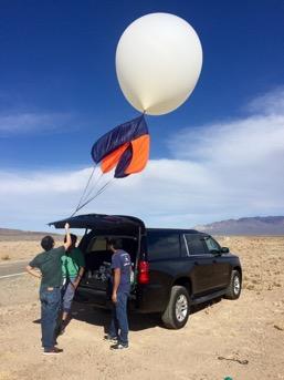 Nevada testing with Sergio Hernandez, Cruz Phillipe and Pradeep Shinde