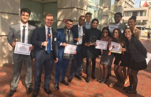 Model United Nations team ranked second in North America