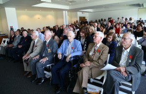 WW II veterans awarded Legion of Honor at Frost Art Museum