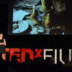 At 2012 TEDxFIU, mechanical engineering student Ximena Prugue delivered a talk about her non-profit – Giving the Green Light to India.