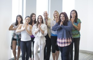 FIU YogaTeens staff & volunteers: Leah Ackerman; Patty Ware; Julianna Horton; Megan Murphy; Eric Wagner, Ph.D.; Christine Spadola, Ph.D.; Staci Leon-Morris, Psy.D.; and Michelle Hospital, Ph.D.