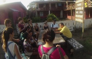 International Business Honors Society students devise a plan to help grow economy in Tortuguero