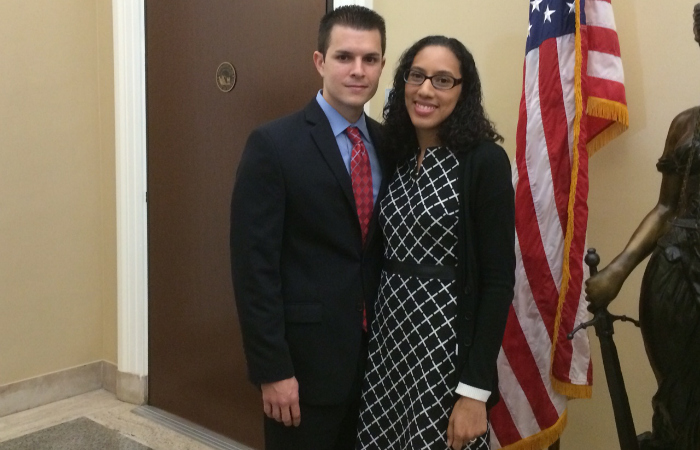 Alexander Martini and his wife Melissa Aponte Martini.
