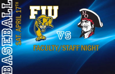 Faculty/Staff Night at the ball park April 17