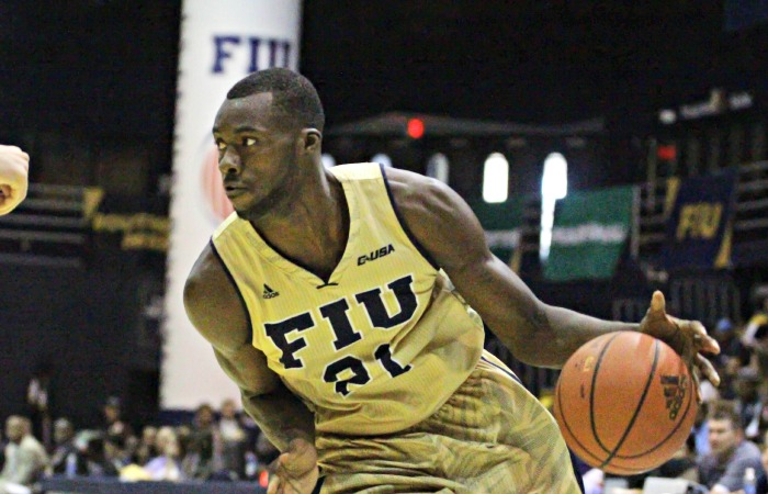 akeem Buckles, who transferred to FIU from Louisville, will face his former team for the first team on Dec. 21 at the U.S. Century Bank Arena.