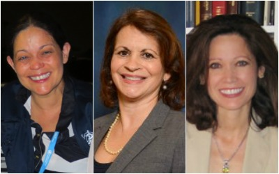 Left to right: Prof. Aileen M. Marty, M.D., Prof. Eloisa C. Rodriguez-Dod, Prof. Elena Marty-Nelson.