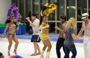 Students enjoy Carnival-themed Midnight Breakfast at BBC