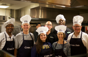 Midnight Breakfast puts President Rosenberg to work