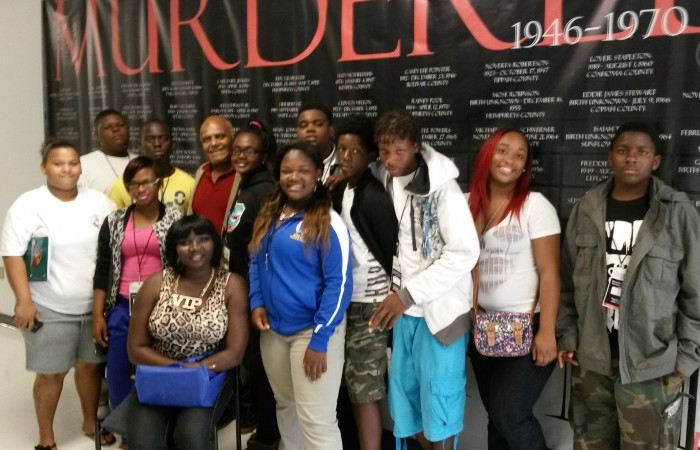 A group of middle and high school students from Liberty City joined FIU faculty and students on a trip to commemorate Freedom Summer in Jackson, Mississippi.