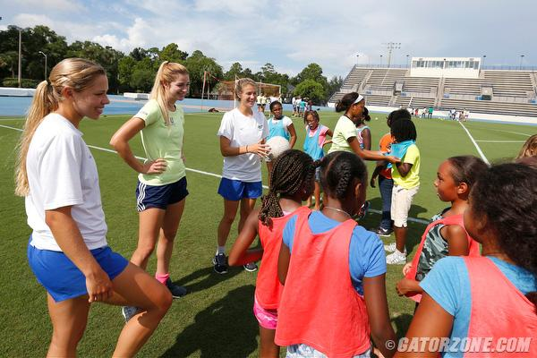 Student-athletes embrace active role in serving the community