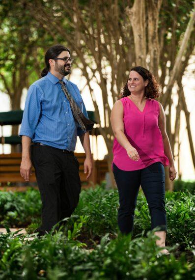 Professors Geoff Potvin & Kathy Quardokus Fisher