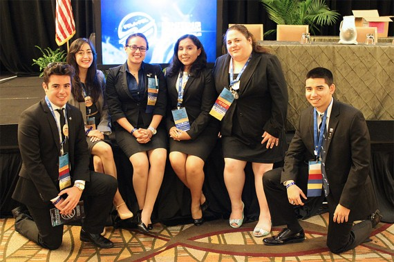 Future Business Leaders chapter finishes top 10 at nationals