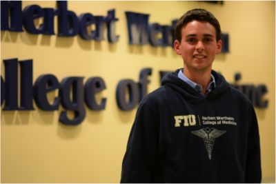 Fernando Alvarez hopes to go to medical school at FIU.