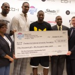 Isiah Thomas' Mary's Court Foundation donates to FIU First Generation Scholarship Fund