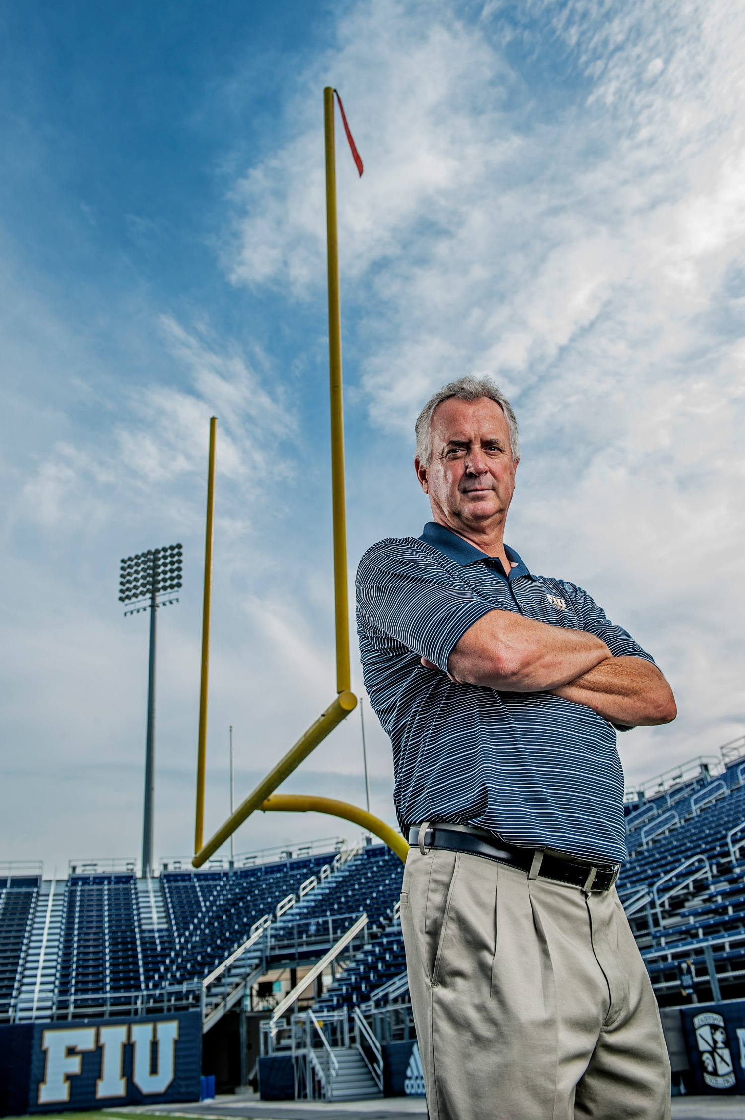 Florida International University head football coach Ron Turner by Josh Ritchie