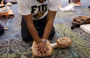 Training hospitality students to save lives