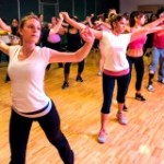 Zumba class at FIU Recreation Center