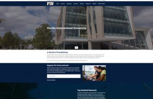 University website receives makeover